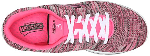 Skechers 14033 Scarpa ginnica Donna Hot Pink/Black