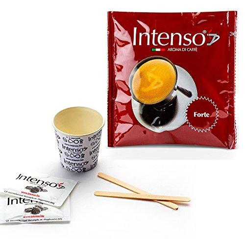 150 Pads und Zubehör - Hartes Aroma - Intenso Aroma Di Caffe'