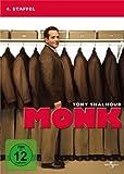 Monk - 4. Staffel [4 DVDs] - Best Reviews Guide