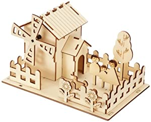 Jamara 400260 Figura de construcción - Figuras de construcción (Madera, 8 año(s), Madera, 210 mm, 160 mm, 140 mm)