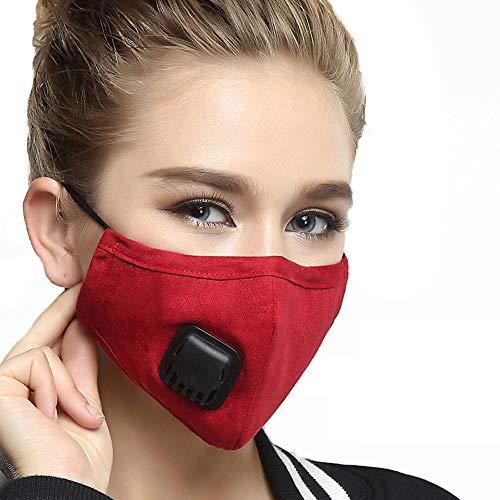 Anself Mascarillas Antipolvo Filtro Reemplazable Máscara