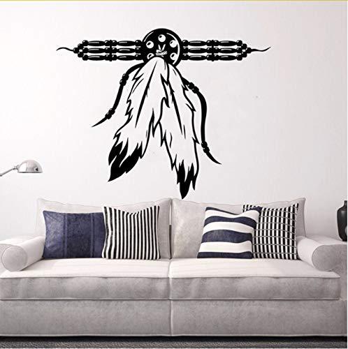 man Wandaufkleber Halskette Kultur Wand Kunst Mural Fantasy Mystic Sammlung Vinyl Wandtattoo Für Wand 42X34Cm ()