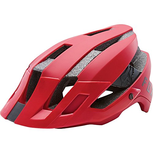 Fox Herren Flux Fahrradhelm, Bright Red, L/XL (59cm-62cm)