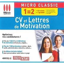 Micro Application - CV et Lettres de motivation - PC - Neuf