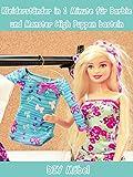 Clip: Kleiderständer in 1 Minute für Barbie und Monster High Puppen basteln - DIY Möbel
