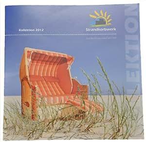 Strandkorb Katalog Kollektion 2012 Strandkorbwerk Hauben und Abdeckhauben