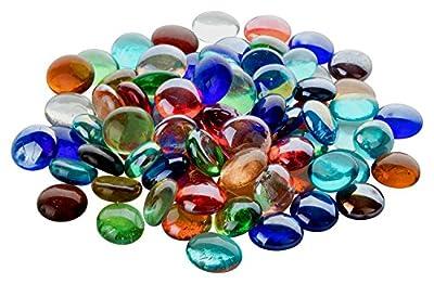 Fliesenhandel Fundus 1kg Glasnuggets Premium Muggelsteine 17-22mm ca 200 STK von Fliesenhandel Fundus auf Du und dein Garten