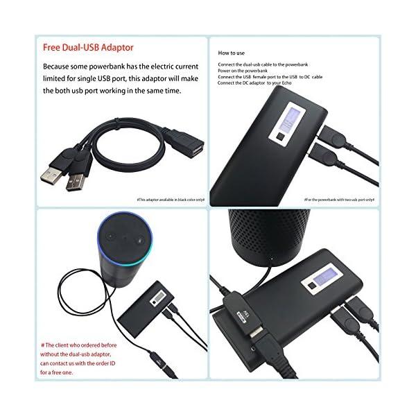 🛒 MERES USB Kabel für Amazon Echo, USB 5V zu DC 15V Netzkabel für ...