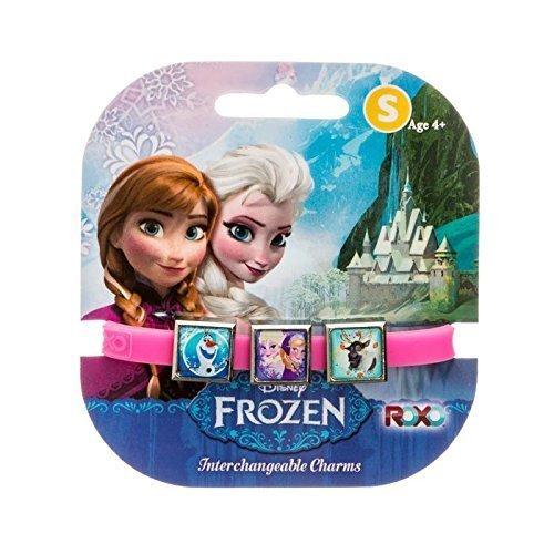 Disney gefroren: 3 Charms Roxo Band (Small, Rosa, Sven Olaf, Anna und Elsa) [Spielzeug]