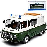 alles-meine.de GmbH Barkas B1000 Bus Halbbus Volkspolizei Grün Weiss DDR 1961-1990 1/18 Ist Ixo Modell Auto