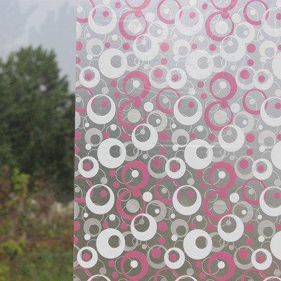 XI.W.H Fenster Papier Glas matt Aufkleber Aufkleber Bad transparentes Bad Zellophan Beschattung Fenster Film, 80 cm breit Pulver Grau Schaumstoff 2 m