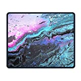 Painting Abstract Waves Comfortable Rectangle Rubber Base Mousepad Gaming Mouse Pad