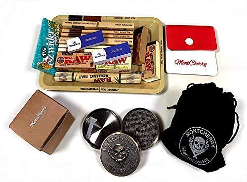 0er Mini Metall Rolling Tablett New Deal Geschenk für sie oder Ihre Lieben mit e-zwider Booklet Pinacolada von Trendz ()