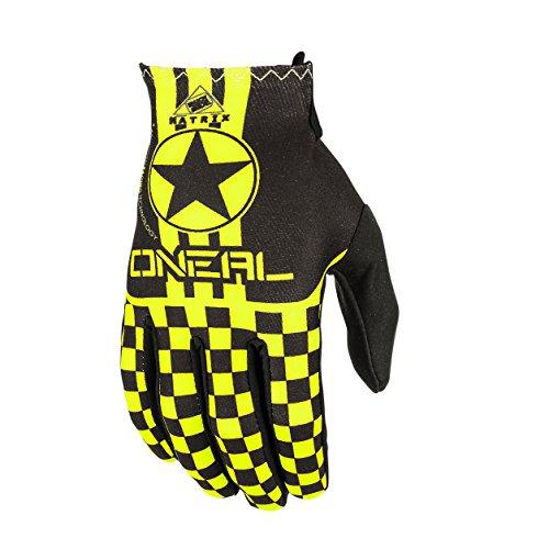 O'Neal Matrix Wingman Fahrrad-Handschuhe für Kinder M mehrfarbig (Schwarz / neongelb)
