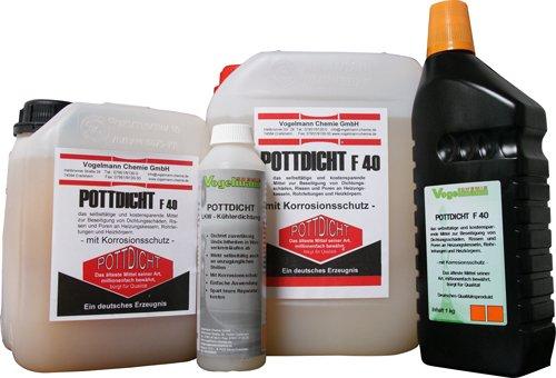 1 l Pottdicht F40 Dichtmittel für Heiz- und Wasserkreisläufe