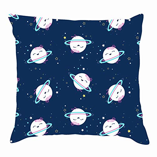 Saturn The Arts Animal Beauty Fashion Throw Pillow Covers Cotton Linen Cushion Cover Cases Pillowcases Sofa Home Decor 18