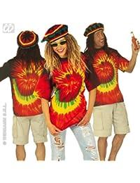 Jamaika T-Shirt für Damen und Herren Batic shirt Größe XL