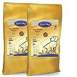 2 x 12,5 kg Lyra Pet Dog Senior Premiumfutter Hundefutter für ältere Hunde ab 7