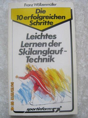 Leichtes Lernen der Skilanglauf-Technik