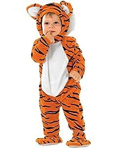 Unbekannt Aptafêtes-cs10912/24-Disfraz-Pequeño Tiger-Tamaño 24Meses