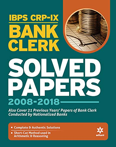 IBPS CWE- VIII Bank Clerk Solved Papers 2019