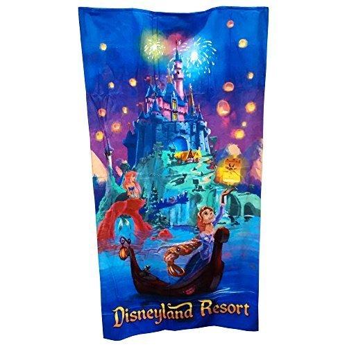 Disneyland Resort Beach Towel - Sleeping Beauty Castle, Aurora & Ariel by Disney