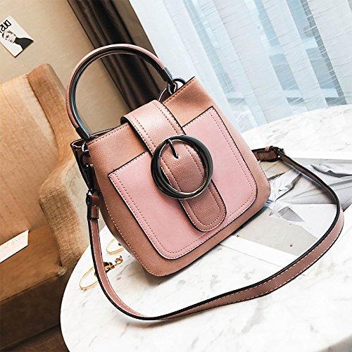 Mdrw-handbags Mini Bag Borsa A Tracolla Singola Colore Retrò Femminile Borsa A Tracolla Per Tutti I Colori Rosa