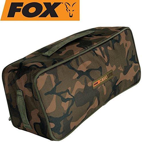 Fox Camolite Coolbag Standard 39x18x15cm - Kühltasche zum Karpfenangeln, Ködertasche, Boilietasche, Essenstasche zum Angeln