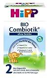 Hipp Bio Combiotik 2 Folgemilch ohne Stärke - ab dem 6. Monat, 600g, MHD-Aktion 09.12.2017