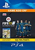'Fifa 17 Ultimate Team - 500 Fifa Points [ps4 Psn Download Code - Uk Account]