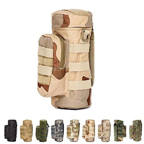 Military Gro?e Wasserflasche Beutel Tasche Halter Molle Reise Wasserkocher Zahnrad Taille Tasche W¨¹stentoro