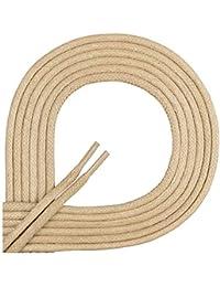 Di Ficchiano Lacets ciré ronds premium Ø 2–3mm, longueur 45–120cm, indéchirable