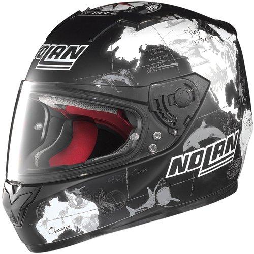 Nolan N64 C, Checa casco integral matt-schwarz Talla:XS (53/54)