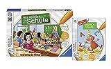 Ravensburger Kinder tiptoi Schul Set - Spiel Wir spielen Schule und Buch 1. Klasse Deutsch
