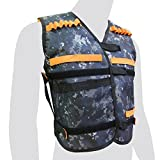 EKIND Kids Elite Camouflage Tactical Vest for EVA Nerf Gun N-strike Elite Series