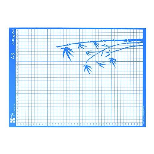 Aibecy Schneidematte Standard Grip Klebematte mit Messgitter für Silhouette Cameo Schneidemaschine, A3