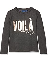Tom Tailor Sweatshirt with Copper Print, Sweat-Shirt Fille