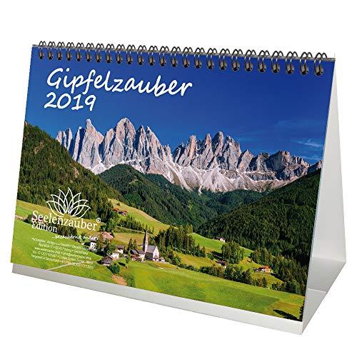 Gipfelzauber · DIN A5 · Premium Tischkalender/Kalender 2019 · Gipfel · Gebirge · Sport · Wanderung · wandern · Ausrüstung · alpin · Besteigung · Natur · Edition Seelenzauber