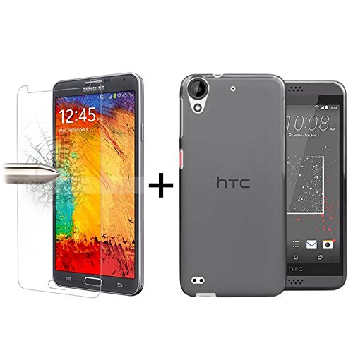 tbocr-pack-black-tpu-silicone-gel-case-tempered-glass-screen-protector-for-htc-desire-530-soft-jelly