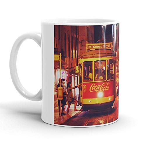 Portugal Tram - Tasse / (Nationale Europa Kostüm Männer Für)