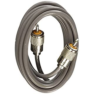 Astatic 9ft RG8X Cable with PL259 Connectors Patch Lead