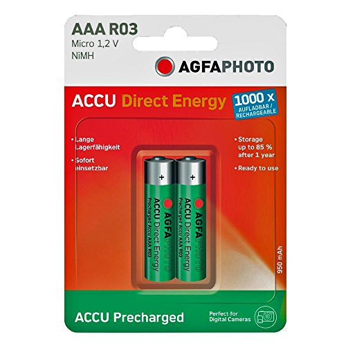 AGFAPHOTO - DIRECT ENERGY AAA 950 MAH/2ER