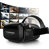 3D Occhiali per Realtà Virtuale,3D Box,Visore con Lenti Regolabili/Laccio Regolabile, per Film 3D Giochi,Compatibile con iPhone 7/6S/6 Plus/6/5S/5 C/5,Samsung Galaxy S5/S6/Note4/Note5,Altri 3.0-6.0 pollici smartphone V01 - Kaotoer - amazon.it