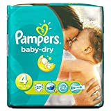 Pampers Baby Dry Taille 4 Maxi 7-18kg (27) - Paquet de 6
