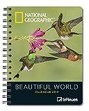 National Geographic Beautiful World Wochenkalender - Taschenkalender, Diary, Naturkalender 2019  -  16,5 x 21,6 cm -