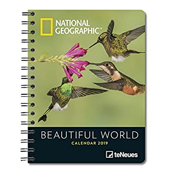 National Geographic Beautiful World 2019 Diary [Lingua Olandese]