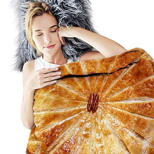 Lucky Mall Haupt Dekorationen! Lustig mexikanische Tortilla-Komfortdecke, Mode Sommer Strandtuch Runde Decke Lustige Bettwäsche Lebensmittel Decke