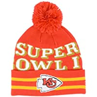 27ce2897cc83da New Era NFL KANSAS CITY CHIEFS Super Wide Point SB IV (Wintermütze) Knit