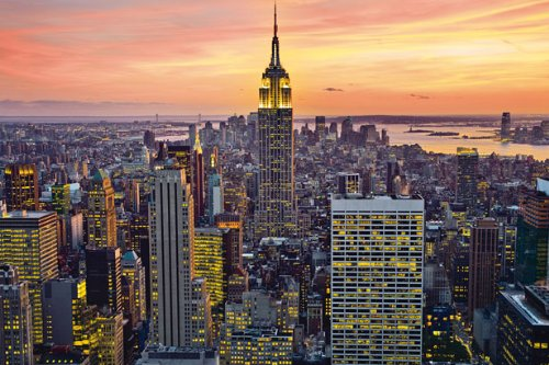 huge-laminated-encapsulated-new-york-city-empire-state-building-poster-measures-36-x-24-inches-915-x