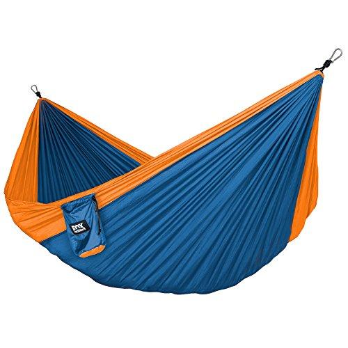 hamaca-de-viaje-doble-ligera-y-portatil-nailon-incluye-correas-y-mosquetones-naranja-azul